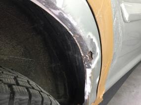 ремонт арки с покраской