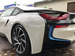 BMW I8 - Покраска крыла